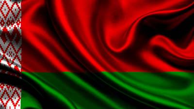Symbol Photograph - Belarus Flag by VRL Art