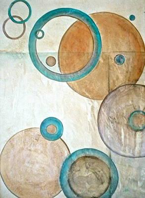 Belief In Circles Print by Debi Starr