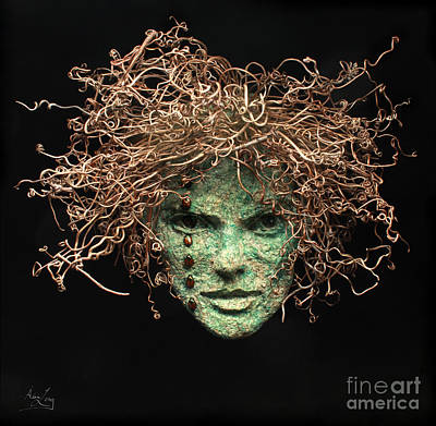 Tendrils Mixed Media - Believe In Me by Adam Long