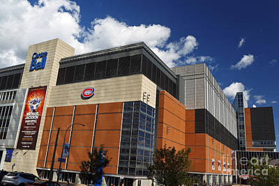 Que Photograph - Bell Center Home Of The Montreal Canadiens by Jason O Watson