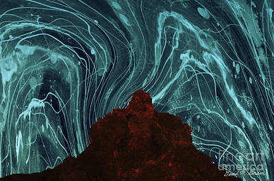 Chroma Digital Art - Bell Rock Vortex by David Gordon