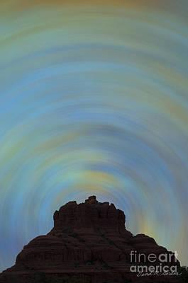Chroma Digital Art - Bell Rock Vortex No. 2 by David Gordon