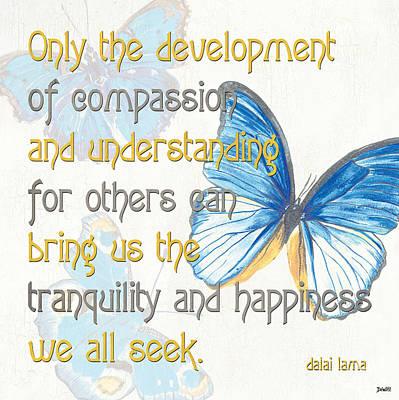 Bella Butterflies 1 Print by Debbie DeWitt