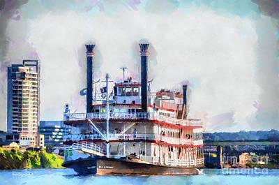 Cincinnati Ohio Painting - Belle Of Cincinnati by Anne Kitzman