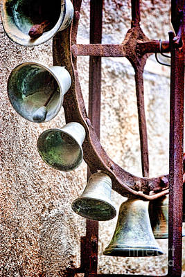 Bells In Sicily Print by David Smith