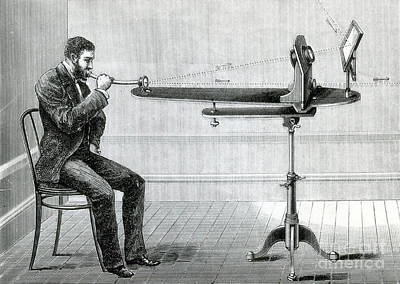 Tele Photograph - Bells Photophone Transmitter, 1880 by Science Source