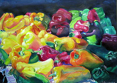 Bellpeppers Painting - Bells by Tricia PoulosLeonard