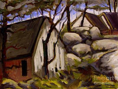 Expensive Painting - Below Bellar's Ridge by Charlie Spear