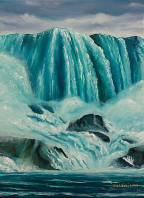 Below The Falls Original by Nick Buchanan