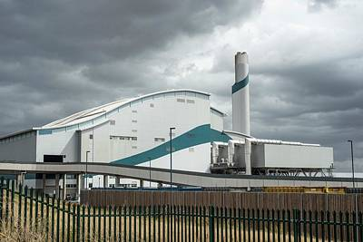 Waste Photograph - Belvedere Incinerator by Robert Brook