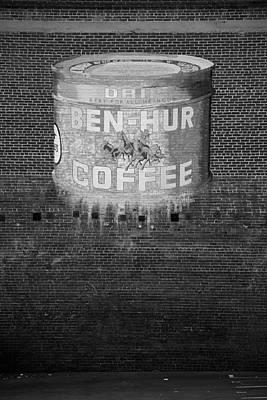 Ben Hur Photograph - Ben Hur Coffee by Peter Tellone