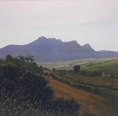 The Rambler Painting - Ben Loyal Scotland by Rodger Insh