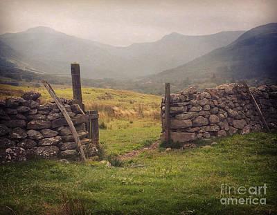 Ben Nevis Photograph - Ben Nevis Mountian Range by Roy  McPeak