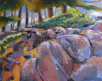 Painting - Bend Oregon Landscape by Melody Cleary