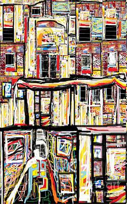 Beneath The Basement Print by Ruth Clotworthy