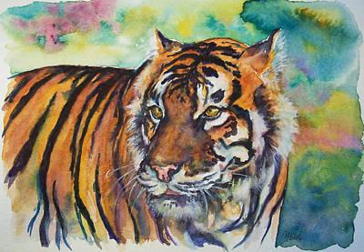 Bengal Tiger Original by Christy  Freeman