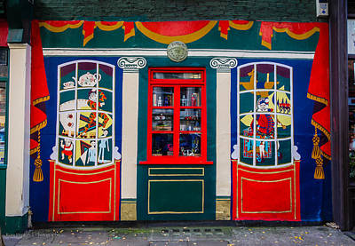 Toy Shop Photograph - Benjamin Pollock's Toy Museum by Ross Henton