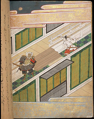Clergy Photograph - Benkei And Yoshitsune by British Library