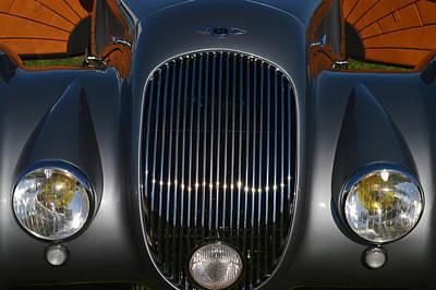 Bentley Roadster Print by Bill Dutting