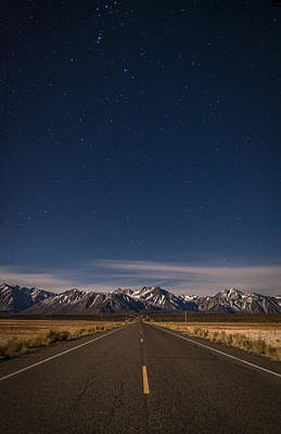 Mountain Scape Photograph - Benton Crossing Rd. by Cat Connor