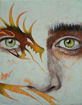 Manga Painting - Beowulf by Michael Creese