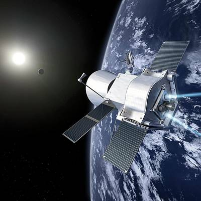 Bepicolombo Mission Print by Esa-production Aoes Medialab