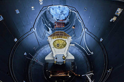 Simulator Photograph - Bepicolombo Mission Testing by Esa-anneke Le Floc'h