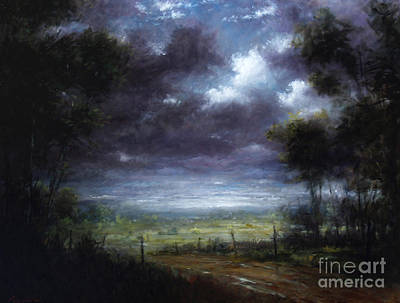 Berkshires Painting - Berkshire Road by Larry Preston