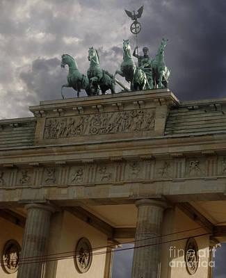 Berlin - Brandenburg Gate Print by Gregory Dyer