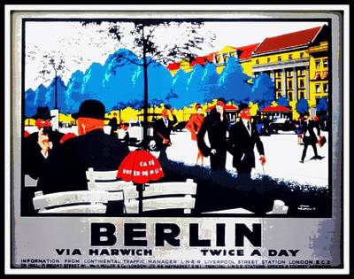 Berlin Germany Painting - Berlin 1925 by Unknown