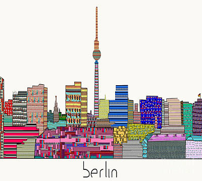 Berlin Print by Bri B