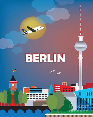 Berlin Print by Karen Young