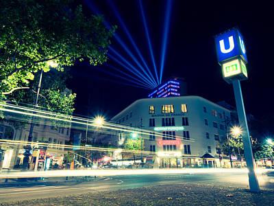 Kudamm Photograph - Berlin Kurfurstendamm by Alexander Voss