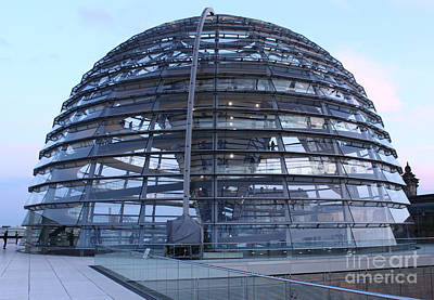 Berlin - Reichstag Roof - No.02 Print by Gregory Dyer