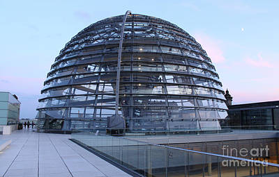 Berlin - Reichstag Roof - No.03 Print by Gregory Dyer