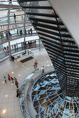 Berlin - Reichstag Roof - No.06 Print by Gregory Dyer