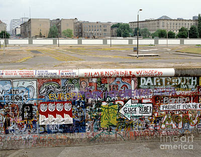 Berlin Wall Print by Werner Otto