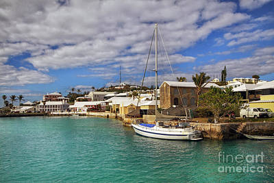 Boat Photograph - Bermuda St George Harbour by Charline Xia