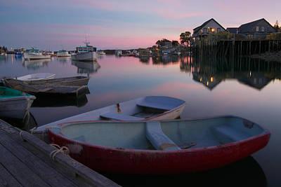 Jordan Pond Photograph - Bernard Harbor by Darylann Leonard Photography