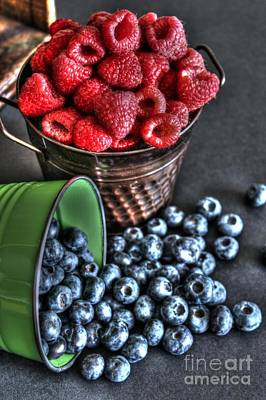 Berries Print by Jimmy Ostgard