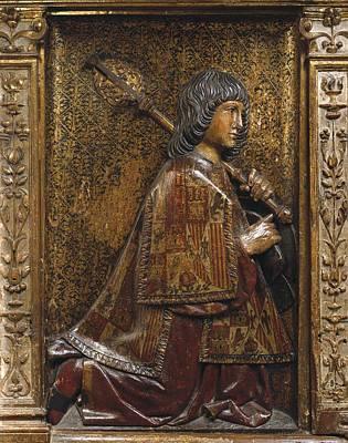 Retablo Photograph - Berruguete, Alonso 1480-1561 Bigarny Or by Everett