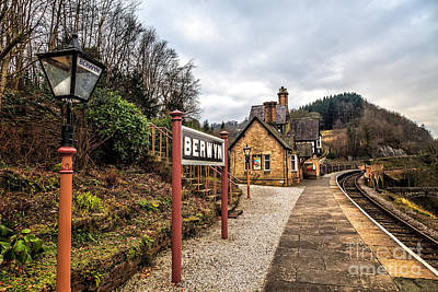 Blending Photograph - Berwyn Station by Adrian Evans