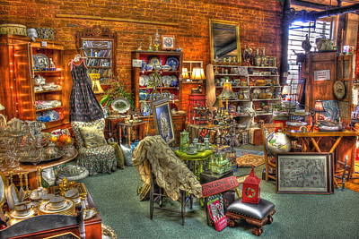 Greensboro Photograph - Best Antique Store On The Planet In Greensboro by Reid Callaway