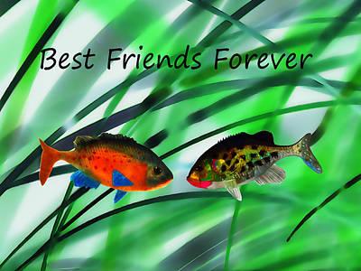 Best Friends Forever Original by Terril Heilman