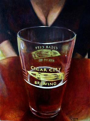 Beer Oil Painting - Best Friends by Maxx Phoenixx