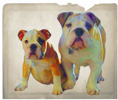 English Dogs Digital Art - Best Of Show by Anthony Caruso