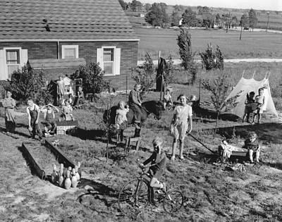 Best Play Yard Winner Print by Underwood Archives