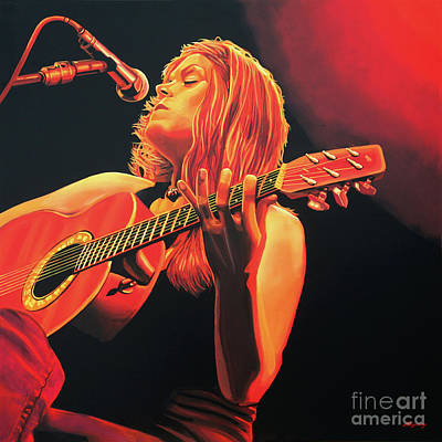 Los Angeles Painting - Beth Hart  by Paul Meijering