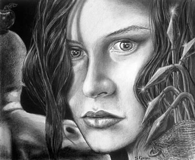 Sensual Drawing - Betrayer  by Geni Gorani