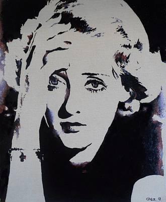 Bette Davis Print by Cherise Foster